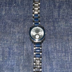 Blue and Solver Watch